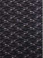 Çiçek Desenli Siyah Abiyelik Dantel Kumaş - K9086