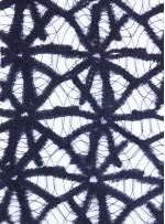 Örümcek Desenli Siyah File Kumaş - K9119