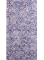 Örümcek Desenli Çift Renkli Gümüş Mor Payetli File Kumaş - K9121