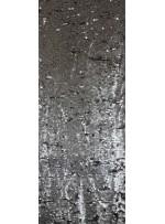 Gotik Baskılı Payet Kumaş - Mat Gold - K9174