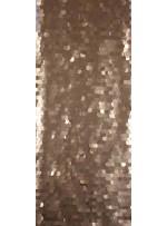 18 MM Büyük Payetli Mat Koyu Gold Payetli Kumaş - K9179