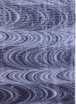 Dalga Desenli Baskılı Payet Kumaş - K9180