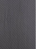 Şifon Üzeri Siyah Taşlı Abiyelik Kumaş - K9181