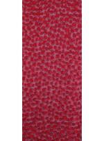 Yuvarlak Lazer Kesimli ve Kırmızı c25 Payetli Kumaş - K9184