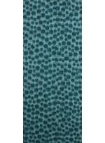 Yuvarlak Lazer Kesimli ve Zümrüt Yeşil c27 Payetli Kumaş - K9184