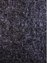 Tül Üzeri Çift Renkli Payet Kumaş - Siyah - K9231