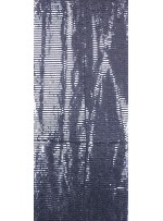 Tül Üzeri Gümüş 5 MM Sıralı Payetli Kumaş - K9237