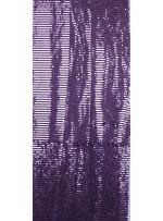 Tül Üzeri Lila 5 MM Sıralı Payetli Kumaş - K9237