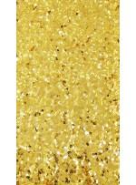 5 mm Yoğun Payetli Gold Payetli Kumaş - K9252