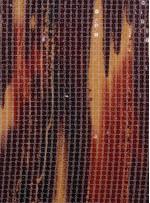 Kare Payetli Bordo ve Sarı Baskılı Abiyelik Kumaş - K9289