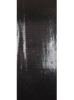 Jarse Üzeri Payetli Kumaş - Siyah Gümüş - K9294