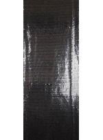 Jarse Üzeri Payetli Kumaş - Siyah Gümüş - K9295