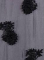 Eteği Sulu Üç Boyutlu Payetli Lase Kumaş - K9305A