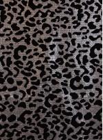 Floklu Payet Kumaş - Gümüş - K9306
