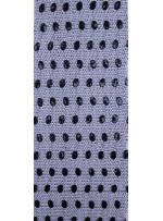 File Üzeri Seyrek Siyah Payet İşlemeli Kumaş - K9327