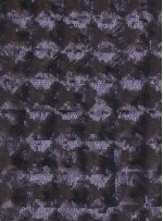 Kare Desenli 3 MM Mat Siyah Payetli Abiyelik Kumaş - K9352