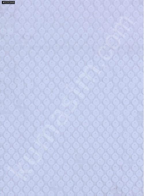Kadife Üzeri Kadife Payetli Kumaş - Kemik c6 - K9360