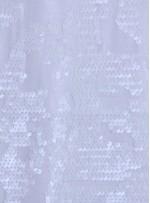 Kadife Üzeri Desenli Kemik Payetli Kumaş - K9391