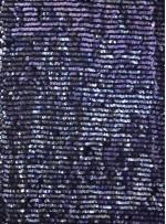 Jarse Üzeri Akış Desenli Lacivert Payet - K9396