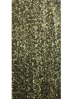 5 mm Yoğun Payetli Fıstık Yeşil Abiyelik c5 Kumaş - K9414