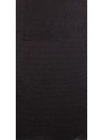 Jarse Üzeri Sıvama Ezik 3mm Siyah Payetli Kumaş - K9441