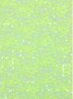 Dantel Üzeri Kare Desenli Sarı Payetli Kumaş - K9479