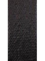 Tül Üzeri Baklava Desenli Siyah Deri Kumaş - K9500
