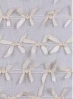 Düğüm Desenli Kemik Lase Kumaş - K9529