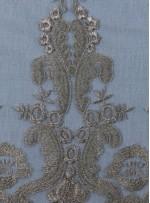 Osmanlı Desenli Gold Abiyelik Kumaş - K9551