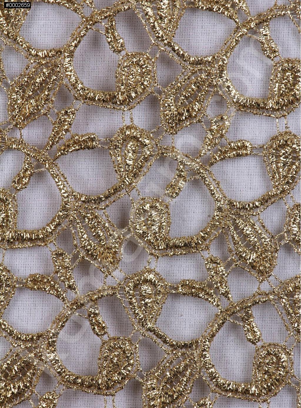 2eb3b449fa308 Zırh Görünümlü Gold Abiyelik File Kumaş - K9554 - Kumaşım