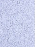 Çiçek Desenli Kalın Kemik Güpür Kordone Kumaş - K9578
