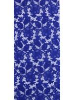 Çiçek Desenli Kalın Saks Güpür Kordone Kumaş - K9578