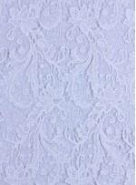 Çiçek Desenli Kalın Kordoneli Güpür Kemik Kumaş - K9580