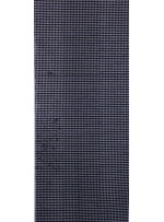 File Üzerine 5 MM Şeffaf Payet Sıvama Siyah Kumaş - K9587