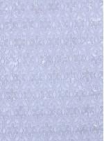File Üzerine Çiçek Desenli Sıvama 3 MM Payetli Kemik Kumaş - K9592