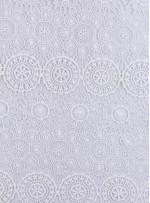 Daire ve Etnik Desenli Abiyelik Kemik Güpür - K9608