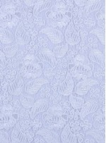 Çiçek ve Yaprak Desenli Kalın Kemik Kordoneli Güpür Kumaş - K9644