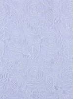 Çiçek Desenli Kordoneli Beyaz Güpür Kumaş - K9661