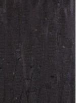 Akış Desenli Simli Siyah Payetli Abiyelik Dore Kumaş - K9672