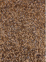 Karışık Desenli Zırh Görünümlü Payetli Gold Kumaş - KAB42