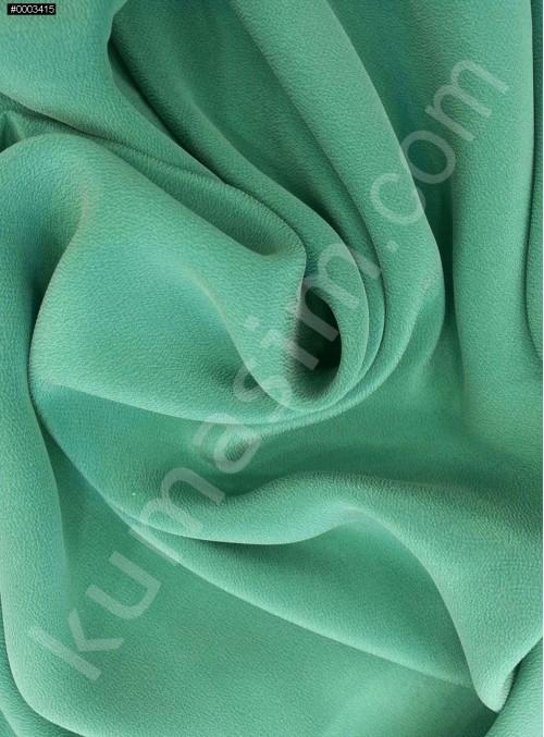 Elbiselik Petrol - Yeşil c119 %100 İpek Mongol Kumaş - G007