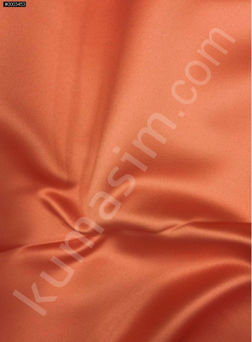 Elbiselik Hardal Polyester Mat Dupont Saten Kumaş - G029
