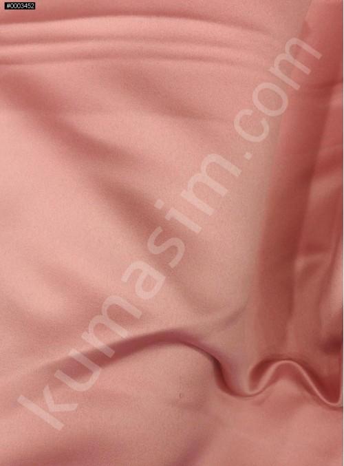 Elbiselik Pudra Polyester Mat Dupont Saten Kumaş - G029