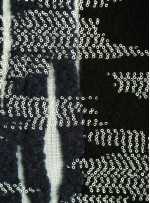 Karışık Desenli Siyah Şanel Kumaş (Chanel Kumaş) - CH88 - K209